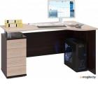 Сокол-Мебель КСТ-104.1 левый, венге/беленый дуб