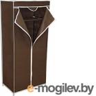 Тканевый шкаф Sheffilton 2012 (темно-коричневый)