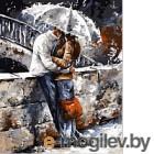 Картина по номерам Picasso В объятьях под дождем (PC4050095)