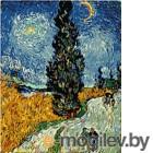 Картина по номерам Picasso Дорога с кипарисами и звездой (PC4050101)