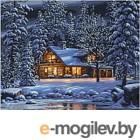 Картина по номерам Picasso Зимним вечером (PC4050107)