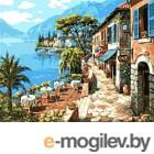 Картина по номерам Picasso Прибрежное кафе (PC4050139)