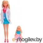 Кукла Simba Штеффи-детский доктор и Эви 105730934