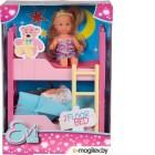Кукла Simba Подружки Эви и двухэтажная кровать 105733847