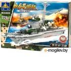 Конструктор Kazi Военный корабль 84005