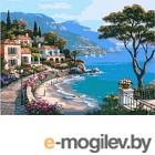 Картина по номерам Picasso Средиземноморский залив (PC4050209)