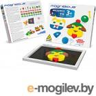Развивающая игрушка Magneticus Мозаика. 174 элемента, 6 цветов, 30 этюдов / MM-0174