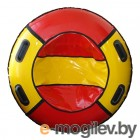 Тюбинг-ватрушка Глобус Water & Snow 90 красный/желтый