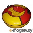 Тюбинг-ватрушка Глобус Water & Snow 80 красный/желтый