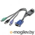 APC KVM PS/2 VM Server Module - 14 in (36 cm)