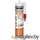 Герметик силиконовый Ceresit Universal CS 24 (280мл, прозрачный)