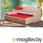 Двухъярусная кровать Олмеко Адель-5 (ясень шимо т./ясень шимо св.)