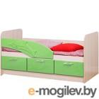 Односпальная кровать Олмеко Дельфин 06.223 эвкалипт