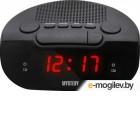 Mystery MCR-21 черный LCD подсв:красная часы:цифровые FM