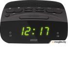 Mystery MCR-23 черный LCD подсв:зеленая часы:цифровые FM