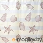 Текстильная шторка для ванной Bisk 06027