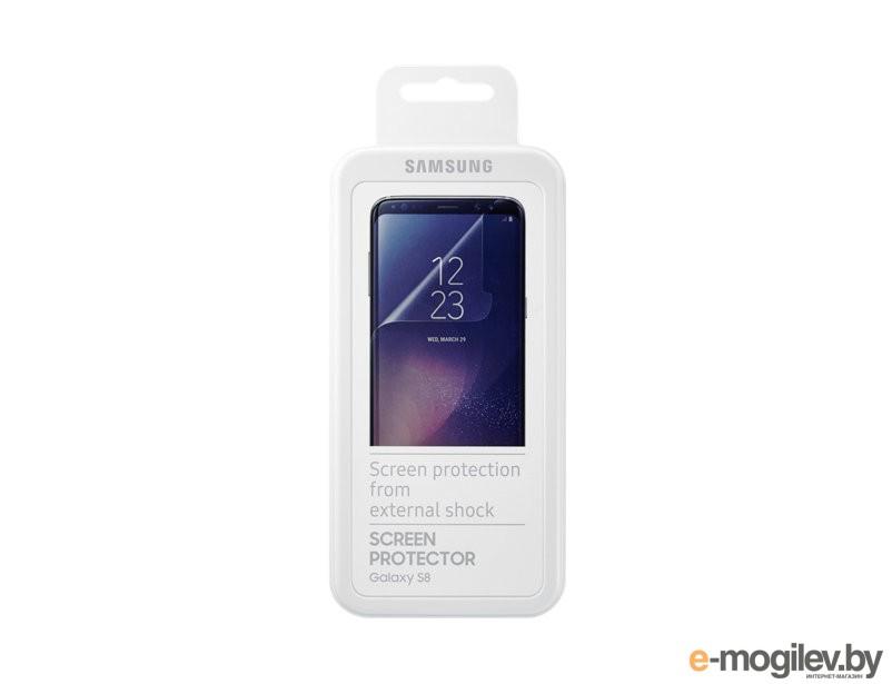Защитная пленка для экрана Samsung ET-FG950CTEGRU для Samsung Galaxy S8 прозрачная 2шт.