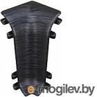 Внутренний угол для плинтуса Ideal Комфорт 302 Венге черный