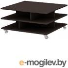 Журнальный столик 3Dom Слим-Практик СП38М каштан венге