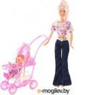 Кукла Defa С коляской 20958