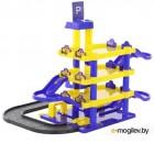 Игровой набор Полесье Паркинг JET 4-уровневый с дорогой (в коробке) 40220