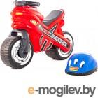 Каталка детская Полесье Мотоцикл МХ со шлемом 46765