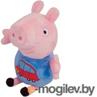 Мягкая игрушка Peppa Pig Джордж с машинкой 29620
