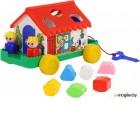 Развивающая игрушка Полесье Игровой дом / 6202 (в сеточке)