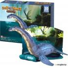 Сборная модель CubicFun Эра Динозавров. Плезиозавр P671h