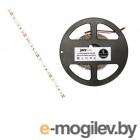 Лента светодиодная PLS 2835/60 (6.0 Вт/м, 480 Лм/м, 3500К, IP20, 12В (5 м в уп.) JAZZWAY (60 диод/м, теплый белый свет, 8 мм)