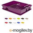 Сушилка для посуды 33х43 см, DRINA (цвета )