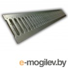 Решетка 100 стальная штампованная (с отверстиями) (Стальная решётка имеет длину 1 м.) (ecoteck)
