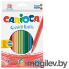Карандаши цветные Carioca HEXAGONAL 41875 шестигранные 36цв. коробка/европод.