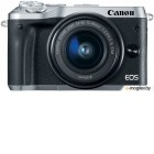 Canon EOS M6 Kit EF-M 15-45 IS STM Silver