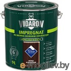 Защитно-декоративный состав Vidaron Impregnant V10 Африканское венге 9л