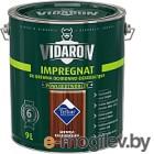 Защитно-декоративный состав Vidaron Impregnant V07 Калифорнийская секвойя 9л