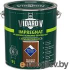 Защитно-декоративный состав Vidaron Impregnant V08 Королевский палисандр 9л