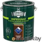 Защитно-декоративный состав Vidaron Impregnant V09 Индийский палисандр 9л