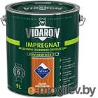 Защитно-декоративный состав Vidaron Impregnant V06 Американское Красное Дерево 9л