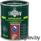 Защитно-декоративный состав Vidaron Impregnant V15 Благородное красное дерево 0.7л