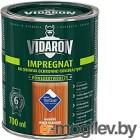 Защитно-декоративный состав Vidaron Impregnant V06 Американское красное дерево 0.7л