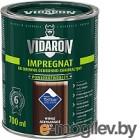 Защитно-декоративный состав Vidaron Impregnant V10 Африканское венге 0.7л