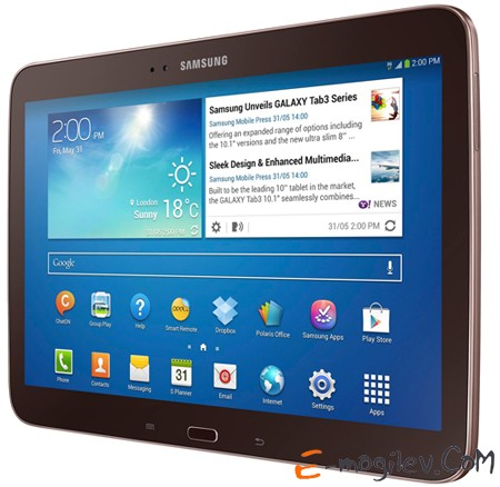 """Samsung Galaxy Tab 3 GT-P5210, 10.1"""",16Gb,WiFi,BT,Cam Gold Brown"""