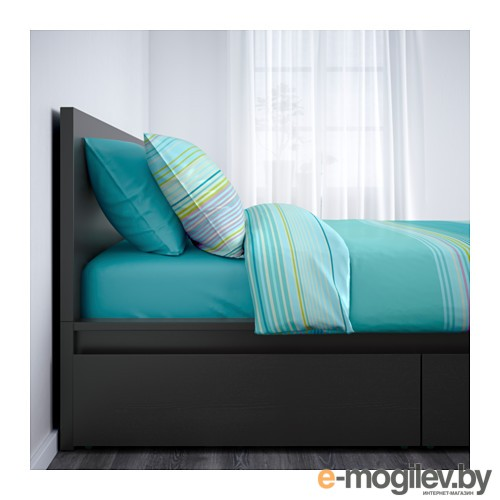 Каркас кровати+2 кроватных ящика МАЛЬМ