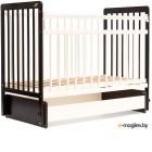 Детская кроватка Bambini Euro Style М 01.10.05 венге/слоновая кость