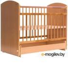 Детская кроватка Bambini Elegance М 01.10.08 натуральный