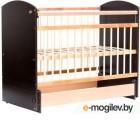 Детская кроватка Bambini Elegance М 01.10.08 венге/слоновая кость