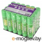 Клей-карандаш Silwerhof 431052-08 8гр ПВА термоусадочная упаковка Народная коллекция