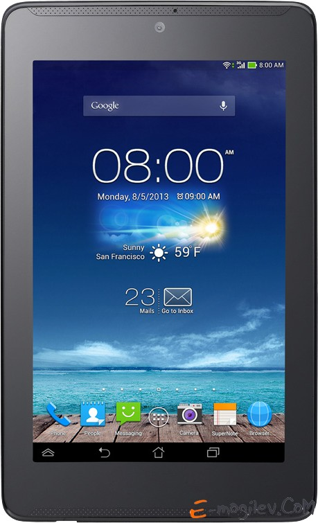 "Asus FonePad 7 ME372CG Atom Z2560 / 1G / 16G / 7"" IPS(1280x800) 10-finger MT/WiFi/BT/GPS/3G/Cam/Android 4.2  Black"