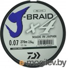 Daiwa J-Braid X4 0.07mm 270m Green 12741-107RU